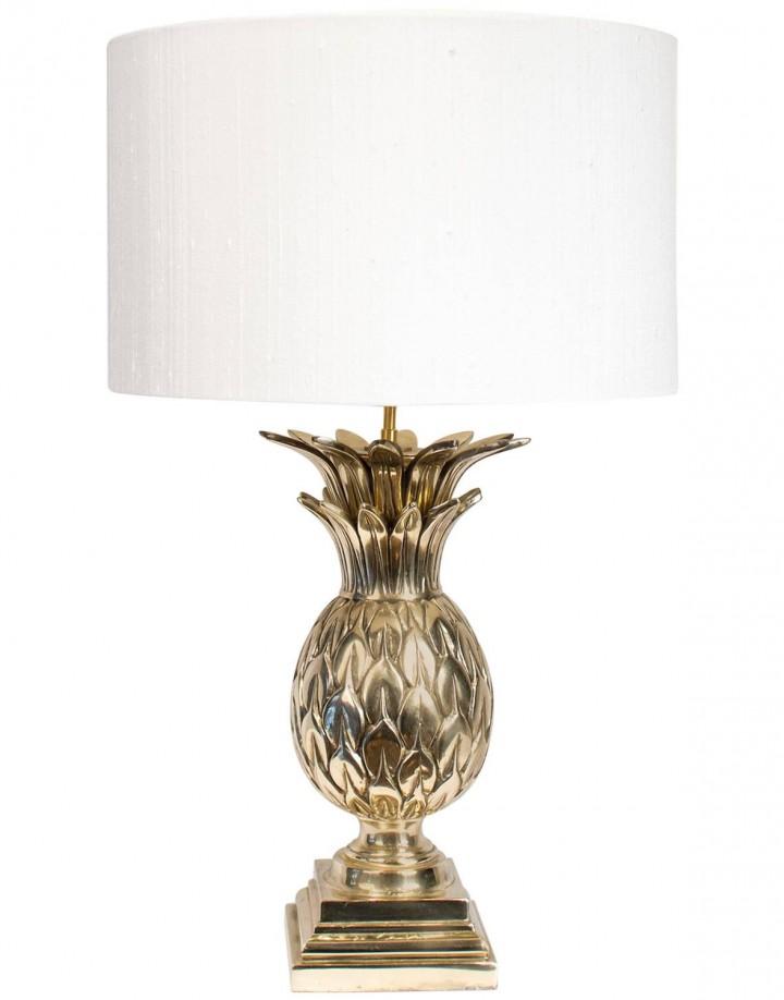 Pineapple Brass Table Lamp