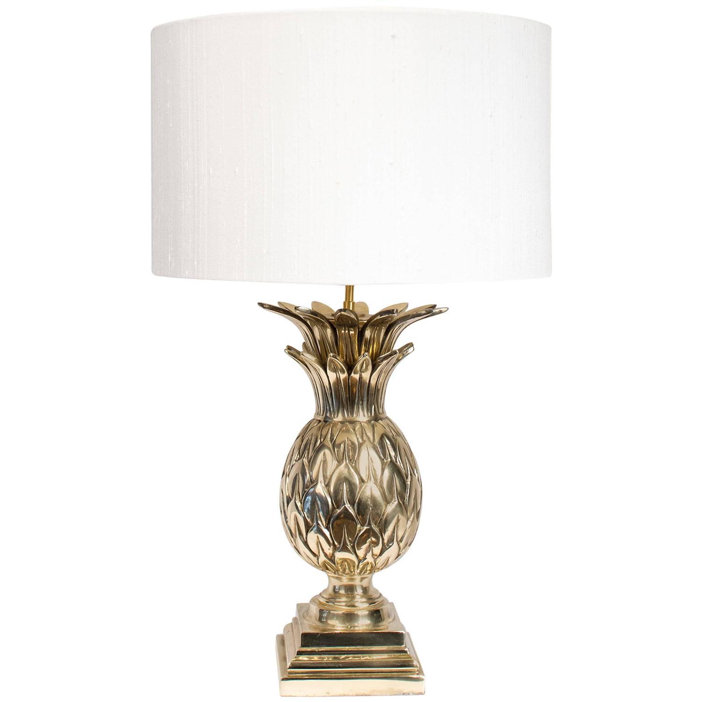 Pineapple Brass Lamp Joevin Ortjens Galerie