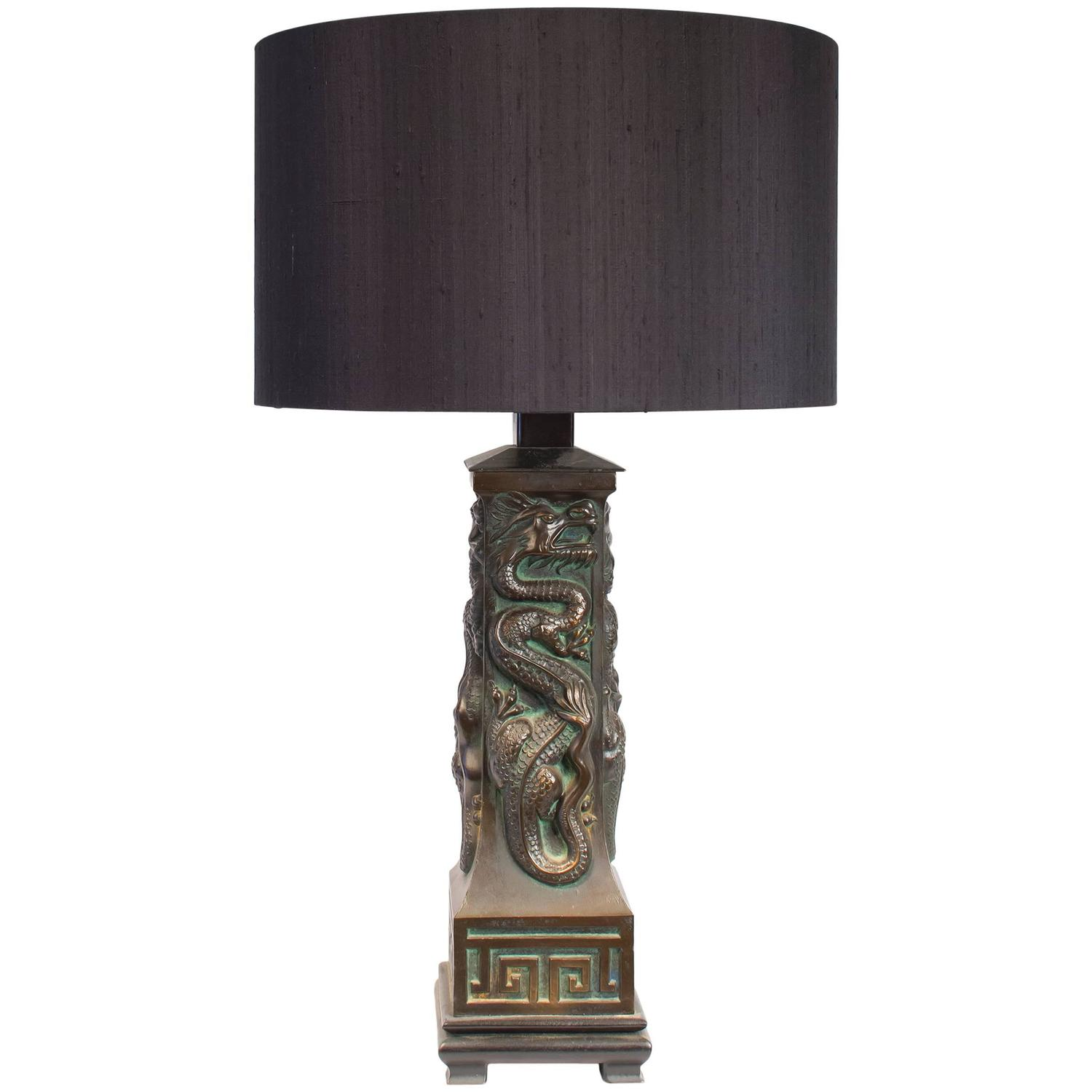 Dragon table lamp joevin ortjens galerie dragon chinoiserie table lamp aloadofball Choice Image