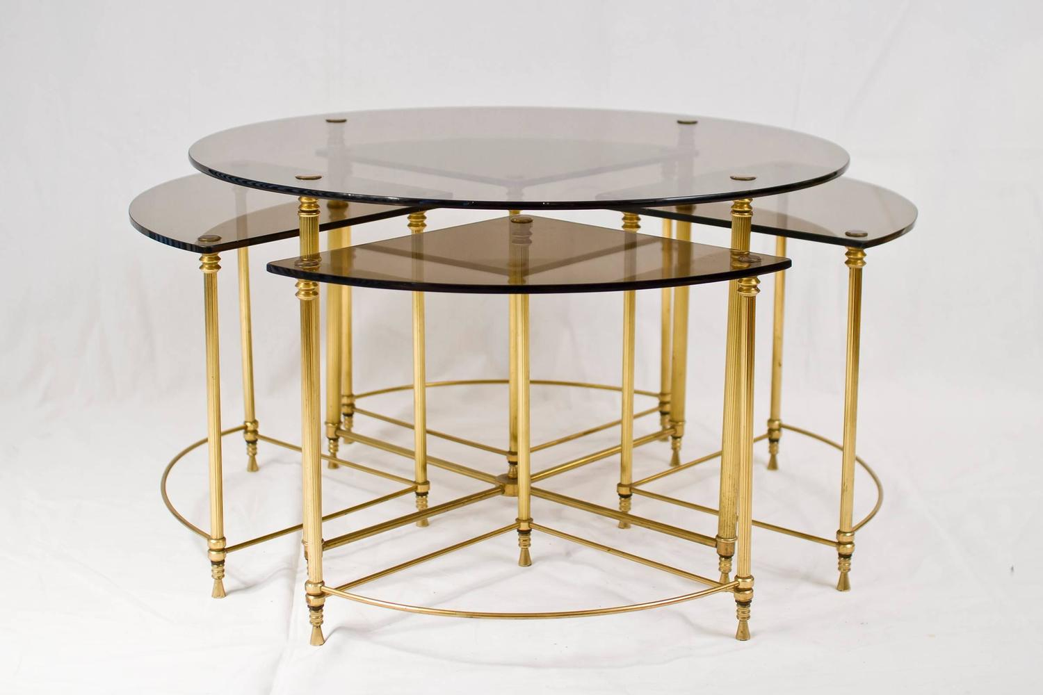 French Nesting Tables Joevin Ortjens Galerie