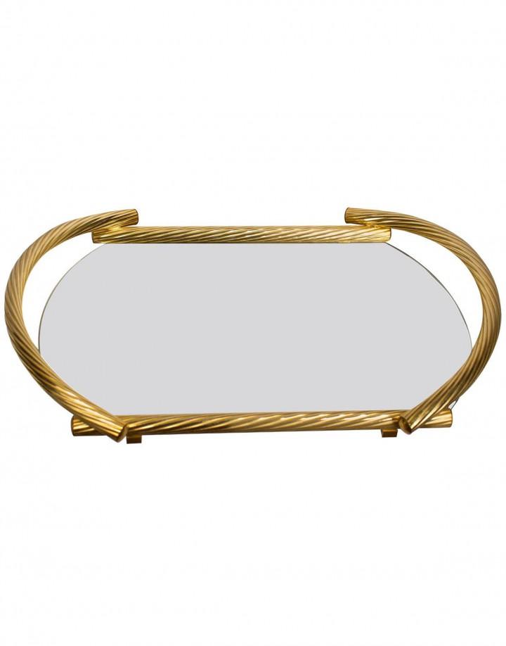 Italian Gold-Plated 23-Karat Service Tray