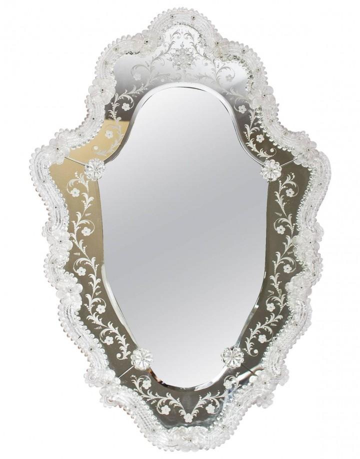 Venetian Etched Mirror
