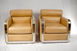 Pair of Lounge Chairs by Maxform, circa 1970s