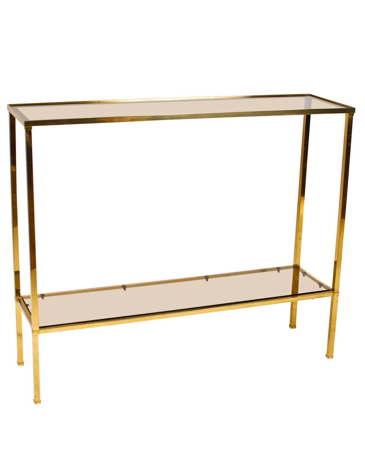 French Brass Console Table Joevin Ortjens Galerie