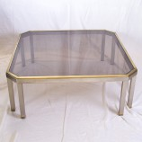 60_Chrome and brass sofa table_03