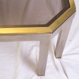 60_Chrome and brass sofa table_04