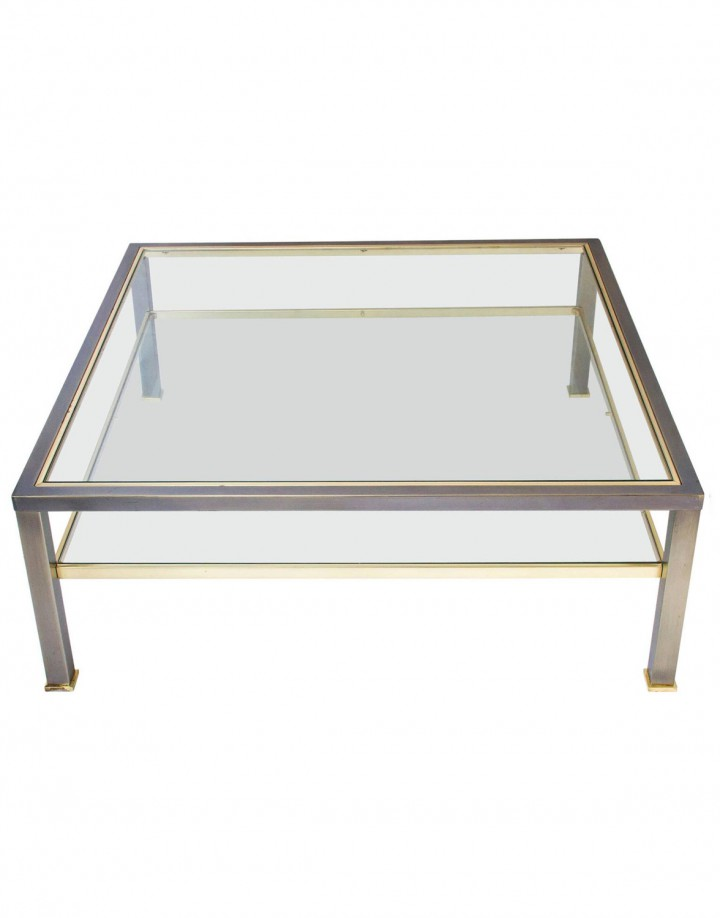Two-Tier Coffee Table by Belgo Chrome