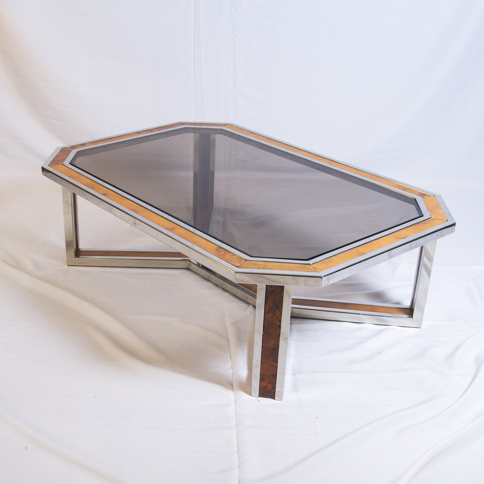 Solid Chrome Coffee Table: Coffee Table By Romeo Rega