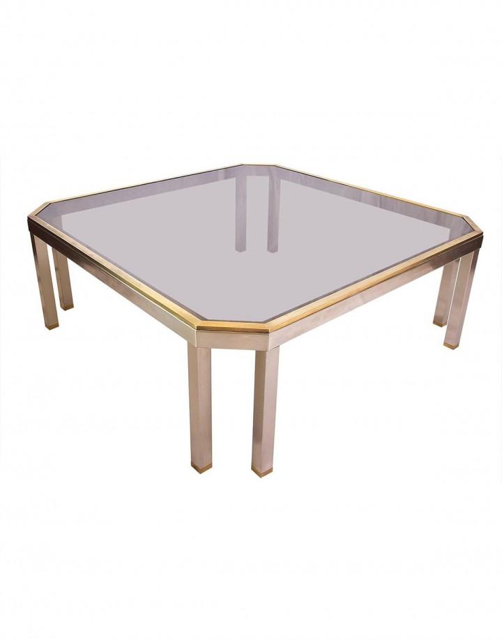 60_Chrome and brass sofa table_cutout
